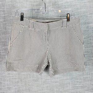 Lands' End Canvas Seersucker Shorts Size 4